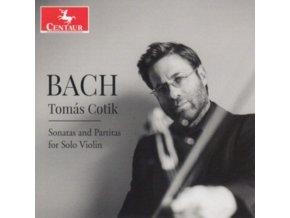 TOMAS COTIK - Bach: Sonatas And Partitas For Solo Violin (CD)