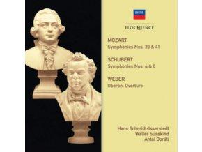 HANS SCHMIDT-ISSERSTEDT / WALTER SUSSKIND / LSO - Mozart. Schubert: Symphonies (CD)