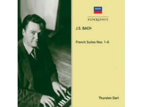 THURSTON DART - Bach: French Suites (On Clavichord) (CD)