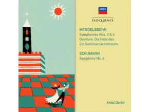 VARIOUS ORCHESTRAS / ANTAL DORATI - Mendelssohn. Schumann: Symphonies (CD)