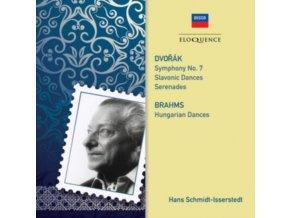 VARIOUS ORCHESTRAS / HANS SCHMIDT-ISSERSTEDT - Dvorak. Brahms: Orchestral Music (CD)