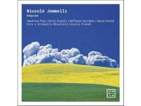 CARLO VISTOLI / CORO E ORCHESTRA GHISLIERI / GIULIO PRANDI / SANDRINE PIAU / SALVO VITALE / RAFFAELE GIORDANI - Jommelli: Requiem (CD)