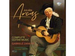 GABRIELE ZANETTI - Arcas: Complete Guitar Music (CD)