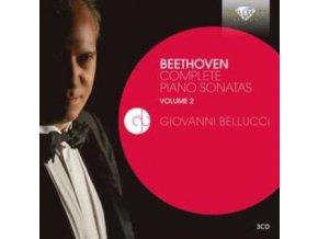 GIOVANNI BELUCCI - Beethoven: Complete Piano Sonatas Volume 2 (CD)