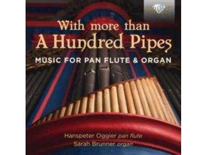 HANSPETER OGGIER / SARAH BRUNNER - Music For Pan Flute & Organ With More Than A Hundred Pipes (CD)