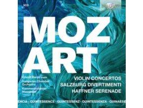 HUNGARIAN CHAMBER ORCHESTRA / KRISTOF BARATI / AMATI CHAMBER ORCHESTRA / GIL SHARON - Quintessence Mozart: Violin Concertos. Salzburg Divertimenti And Haffner Serenade (CD)