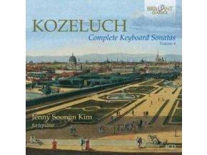 JENNY SOOJIN KIM - Kozeluch: Complete Keyboard Sonatas Volume 4 (CD)