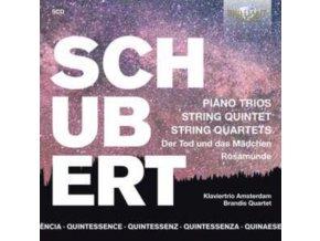 KLAVERTRIO AMSTERDAM / BRANDIS QUARTETS - Quintessence Schubert: Piano Trios. String Quintet. String Quartets (CD)