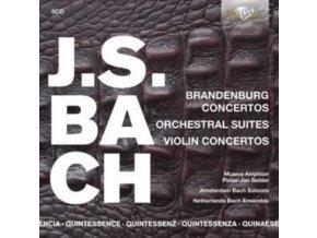 MUSICA AMPHION / P.J. BELDER / AMSTERDAM BACH SOLOISTS / NETHERLANDS BACH ENSEMBLE - Quintessence J.S. Bach: Brandenburg & Violin Concertos. Orchestral Suites (CD)