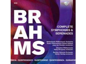 NETHERLANDS PHILHARMONIC ORCHESTRA / RADIO FILHARMONISCH ORKEST HOLLAND / JAAP VAN ZWEDEN - Quintessence Brahms: Complete Symphonies & Serenades (CD)