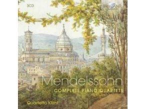 QUARTETTO KLIMT - Mendelssohn: Complete Piano Quartets (CD)