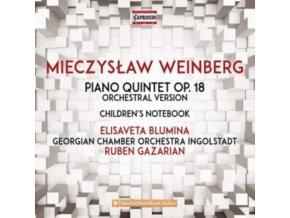 BLUMINA / GCOI - Mieczyslaw Weinberg: Piano Quintet Op. 18 / Childrens Notebook (CD)