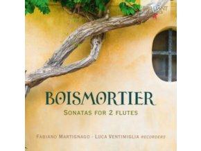 FABIANO MARTIGNAGO / LUCA VENTIMIGLIA - Boismortier: Sonatas For 2 Flutes (CD)