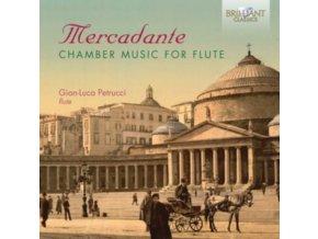 GIAN-LUCA PETRUCCI - Mercadante: Chamber Music For Flute (CD)