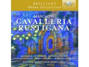 BERLINER SYMPHONIKER / FILIPPO ARLIA - Mascagni: Cavalleria Rusticana (CD)