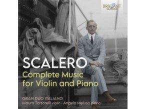 GRAN DUO ITALIANO - Scalero: Complete Music For Violin And Piano (CD)