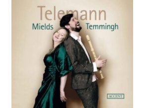 DOROTHEE MIELDS / STEFAN TEMMINGH - Telemann: Cantatas For Soprano & Recorder / Basso Continuo (CD)