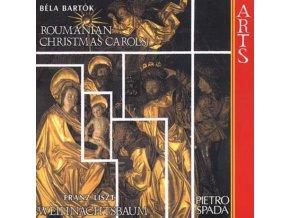 LISZT/BARTOK/SPADA - Roumanian Christmas (CD)