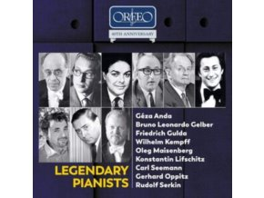 VARIOUS ARTISTS - Legendary Pianists - Orfeo 40th Anniversary Edition (CD Box Set)