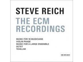 Steve Reich Ensemble - Steve Reich (The ECM Recordings) (Music CD)