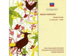 ANSERMET - Scheherazade / Suite - Le Coq (CD)