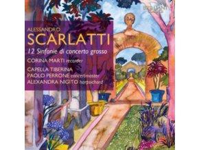 VARIOUS ARTISTS - Scarlatti - Alessandro - 12 Sinfonie Di Concerto Grosso (CD)