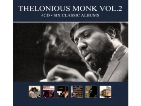 THELONIOUS MONK - Six Classic Albums Vol. 2 (CD)