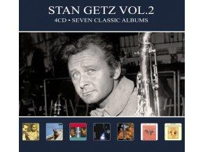 STAN GETZ - Seven Classic Albums Vol. 2 (CD)