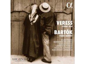 VILDE FRANG / BARNABAS KELEMEN / KATALIN KOKAS / KELEMEN / KATALIN KOKAS / LAWRENCE POWER / NICHOLAS ALTSTAEDT / ALEXANDER LONQUICH - Veress: String Trio / Bartok: Piano Quartet (CD)