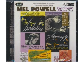 MEL POWELL - Four Classic Albums Plus (Borderline / Thigamagig / Mel Powell Out On A Limb / The Mel Powell Bandstand) (CD)
