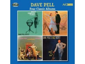 DAVE PELL - Four Classic Albums (Jazz And Romantic Places / Jazz Goes Dancing / I Had The Craziest Dream / A Pell Of A Time) (CD)