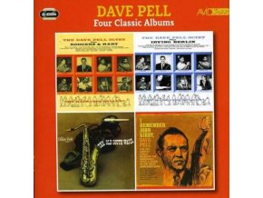 DAVE PELL - Four Classic Albums (The Dave Pell Octet Plays Rodgers & Hart / The Dave Pell Octet Plays Irving Berlin / The Old South Wails / I Remember John Kirby) (CD)