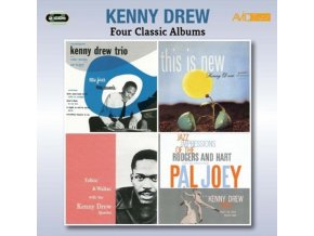 KENNY DREW - Four Classic Albums (Introducing The Kenny Drew Trio / This Is New / Talkin & Walkin / Jazz Impressions Of Rodgers & Hart - Pal Joey) (CD)