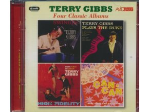 TERRY GIBBS - Four Classic Albums (Swingin / Terry Gibbs Plays The Duke / More Vibes On Velvet / Music From Cole Porters Can Can) (CD)