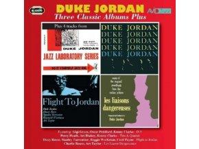 DUKE JORDAN - Three Classic Albums Plus (Trio & Quartet / Flight To Jordan / Les Liaisons Dangereuses) (CD)