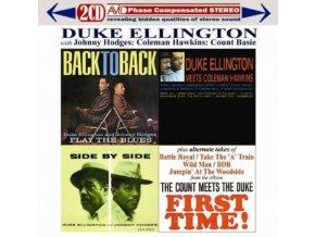 DUKE ELLINGTON / JOHNNY HODGES / COLEMAN HAWKINS / COUNT BASIE - Three Classic Albums Plus (Back To Back / Side By Side / Duke Ellington Meets Coleman Hawkins) (CD)