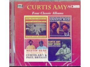 CURTIS AMY - Four Classic Albums (The Blues Message / Groovin Blue / Meetin Here / Way Down) (CD)