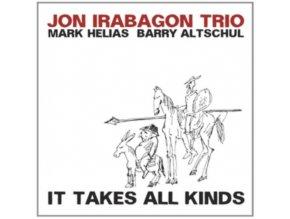 JON IRAGABON TRIO - It Takes All Kinds (CD)