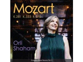 ORLI SHAHAM - Mozart: Piano Sonatas Vol.1 - K.281. K.333. K.570 (CD)