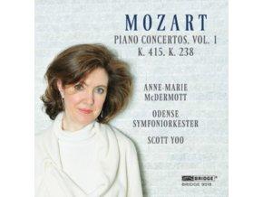 MCDERMOTT / ODENSE / YOO - W.A. Mozart: Piano Concertos (CD)