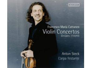 ANTON STECK / LARPA FESTANTE - Francesco Maria Cattaneo: Violin Concertos (CD)