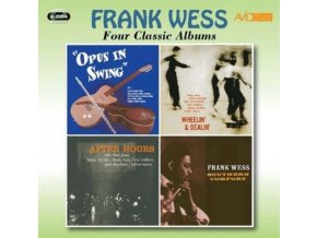 FRANK WESS - Four Classic Albums (Opus In Swing / Wheelin & Dealin / After Hours / Southern Comfort) (CD)