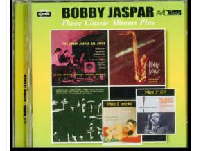 BOBBY JASPAR - Three Classic Albums Plus (Bobby Jaspar All Stars / Tenor & Flute / Interplay For 2 Trumpets & 2 Tenors) (CD)