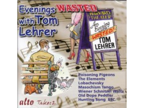 TOM LEHRER - Tom Lehrer Evenings Wasted With....(All The Hits) (CD)