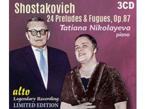 TATIANA NIKOLAYEVA - Shostakovich 24 Preludes & Fugues (CD)