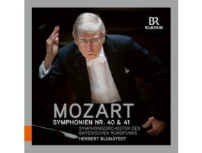 BRSO/BLOMSTEDT - Mozart/Symphonien No 40 & 41 (CD)