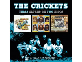 CRICKETS - Bubblegum. Bop. Ballad And Boogies / Remnants / A Long Way From Lubbock (CD)