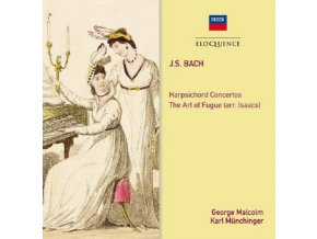 GEORGE MALCOLM - Bach: The Art Of Fugue- Harpsichord Concertos Nos. 1 & 2 (CD)