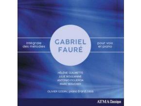 HELENE GUILMETTE / MARC BOUCHER / OLIVIER GODIN / JULIE BOULIANNE & ANTONIO FIGUEROA - Faure: Integrale Des Melodies Pour Voix Et Piano (CD)