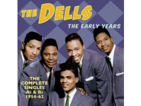 DELLS - The Early Years-Complete Singles As & Bs 1954-62 (CD)